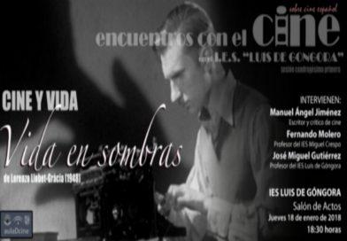Encuentros con el cine en el IES Luis de Góngora – sesión 41ª